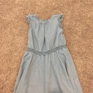 Gap Girls Chambray Dress